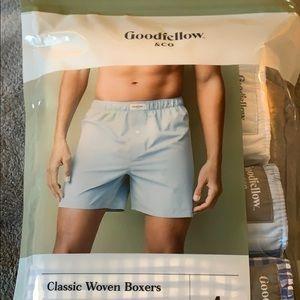 Men's goodfellow &co woven boxers